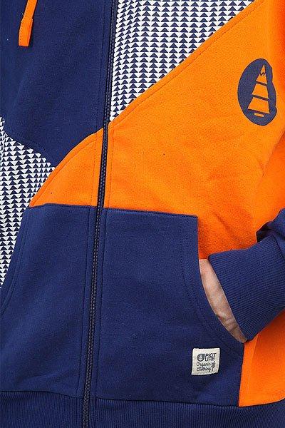 Толстовка сноубордическая Picture Organic Geo Dark Blue