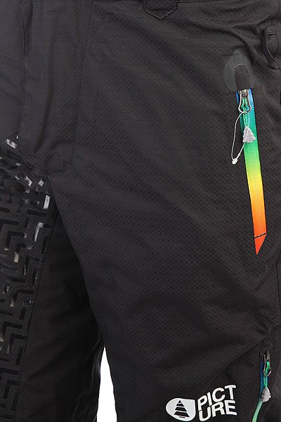 Штаны сноубордические Picture Organic Advance Black