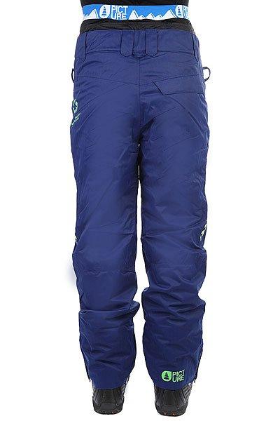 Штаны сноубордические Picture Organic Contrast Dark Blue