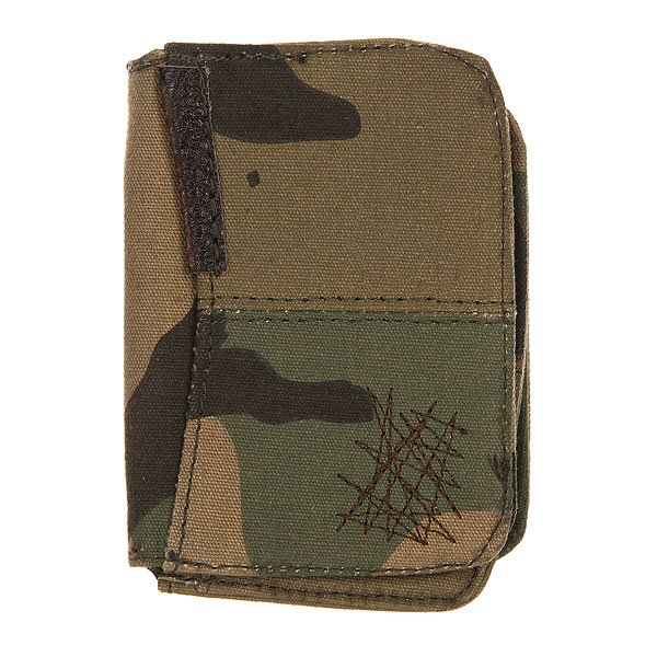 Визитница Zoo York Ridge St Billfold Brown