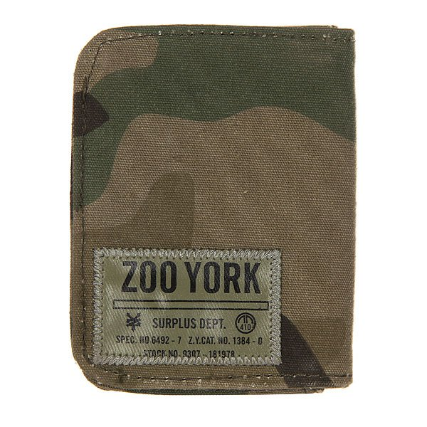 Визитница Zoo York Distressed True Cypess Camo