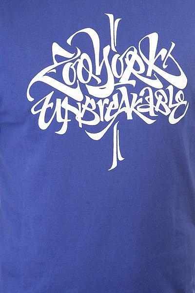 Футболка Zoo York Unbreakable Blue Navy