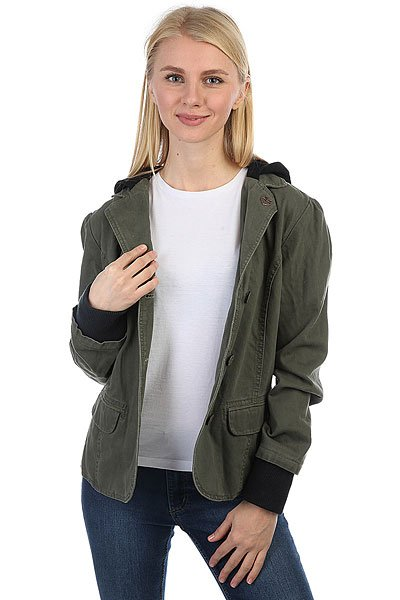 Куртка женская Zoo York Booklyn Aumy Fatigue
