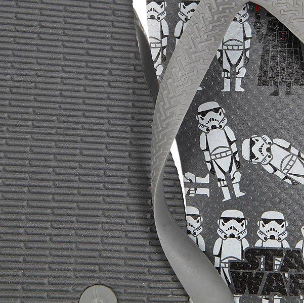 Вьетнамки Havaianas Star Wars Real Grey