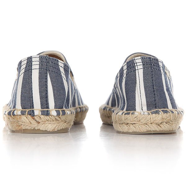 Эспадрильи женские Soludos Smoking Slipper Light Navy/White