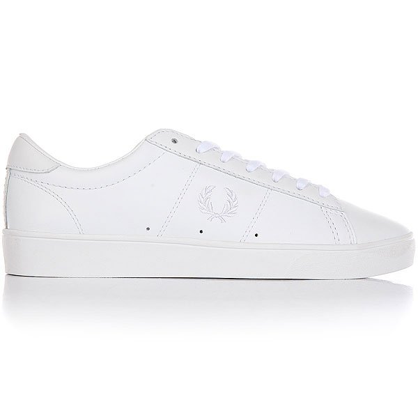 Кеды низкие Fred Perry Spencer Leather Real White