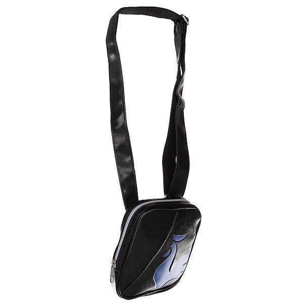 Сумка для документов Le Coq Sportif Rubilo Small Item Bag Black/Ultra Blue