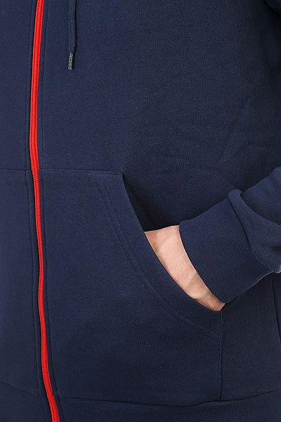 Толстовка классическая Le Coq Sportif Hocilo Fz Hood Dress Blues