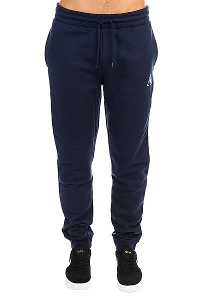 Штаны спортивные Le Coq Sportif Pant Bar Regular Brushed Dress Blue
