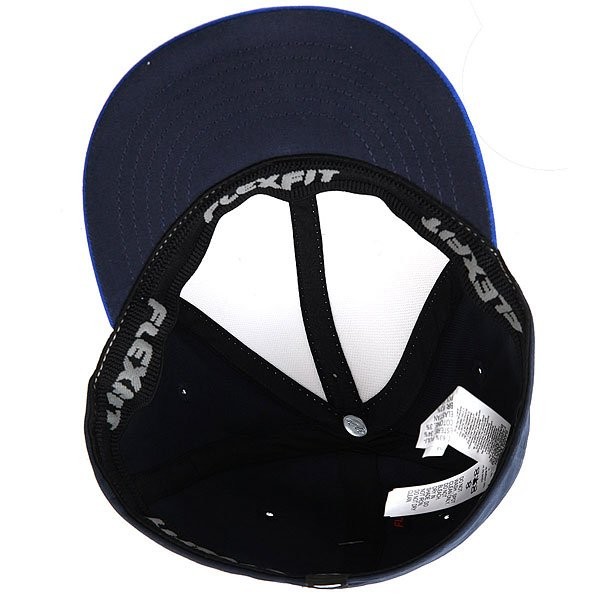 Бейсболка с прямым козырьком детская Quiksilver Stuckles Vallarta Blue