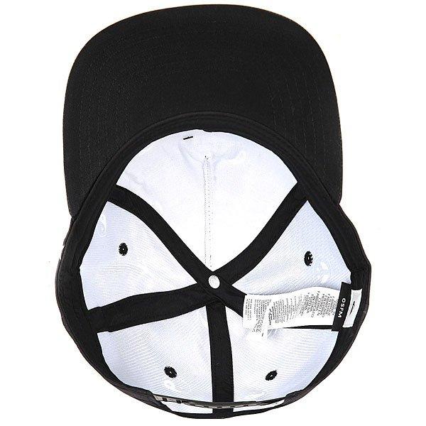 Бейсболка с прямым козырьком Quiksilver Freebelt Black