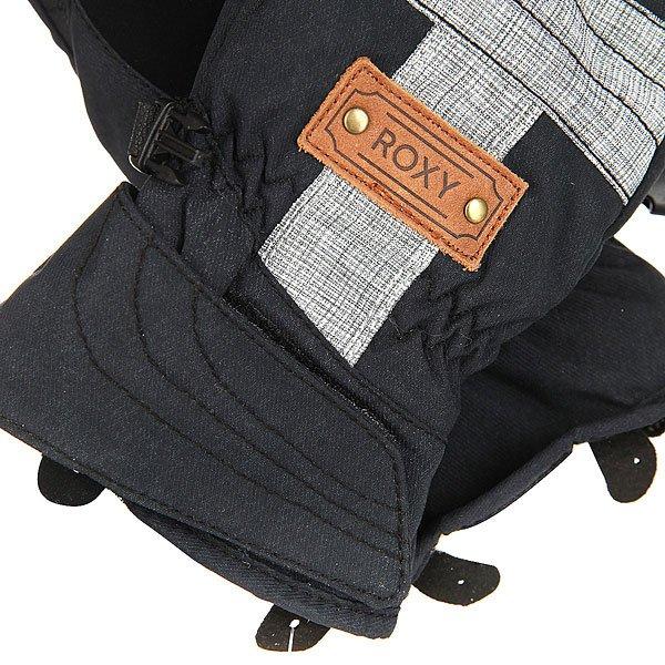 Перчатки сноубордические женские Roxy Vermont Gloves True Black