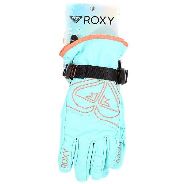 Перчатки сноубордические детские Roxy Popi Gir Glov Blue Radiance