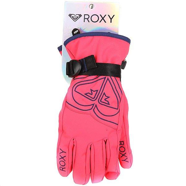 Перчатки сноубордические детские Roxy Popi Gir Glov Paradise Pink