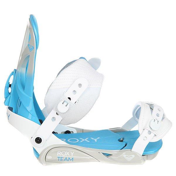 Крепления для сноуборда женские Roxy Team Bind White