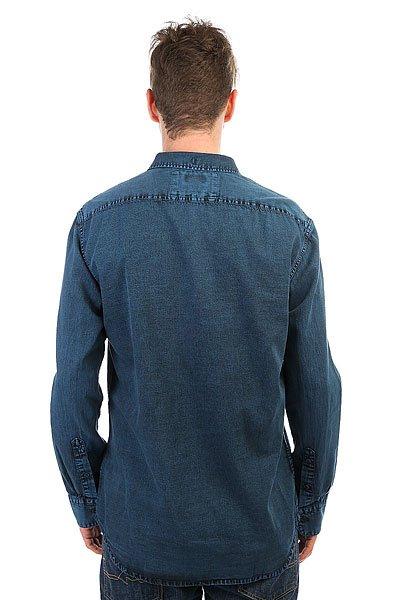 Рубашка Quiksilver Edenfoundls Vallarta Blue
