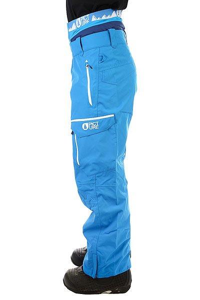 Штаны сноубордические Picture Organic Books Blue