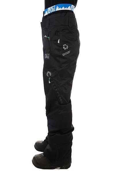 Штаны сноубордические Picture Organic Contrast Black