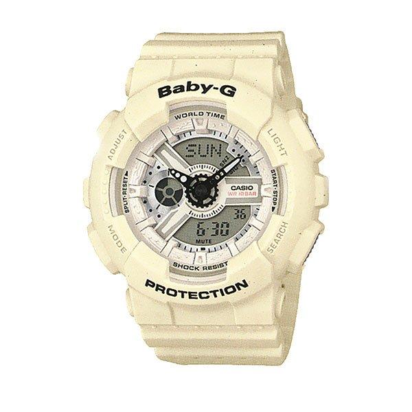 Кварцевые часы женские Casio G-Shock Baby-g 67594 Ba-110pp-7a White
