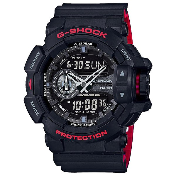 Кварцевые часы Casio G-shock 67579 Ga-400hr-1a Black