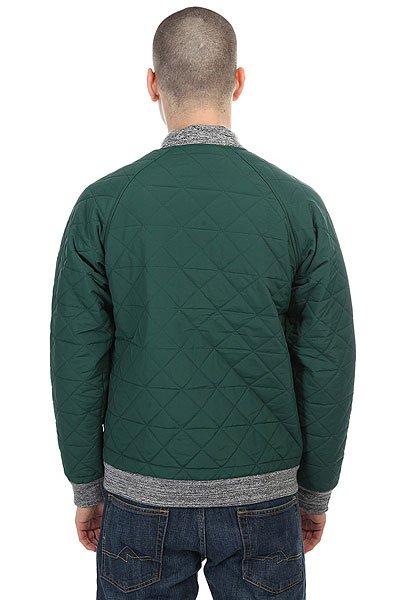Бомбер Запорожец Fufaika Classic Dark Green
