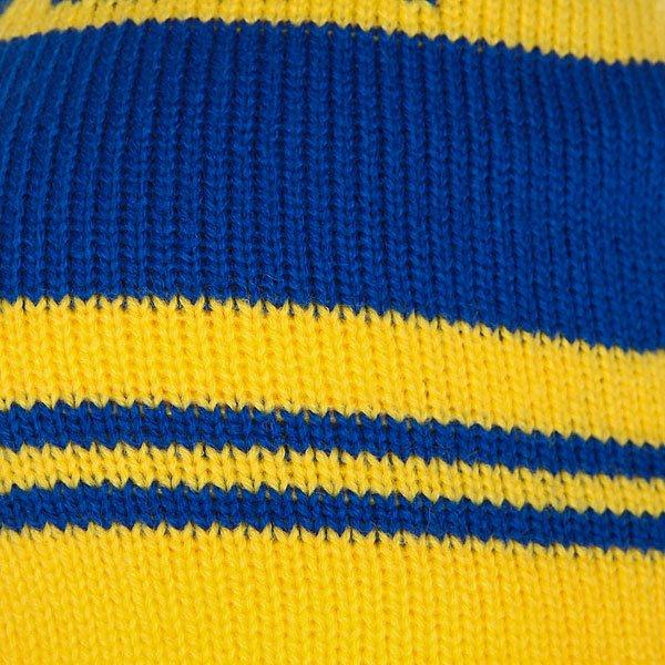 Шапка Neff Classic Beanie Blue/Yellow