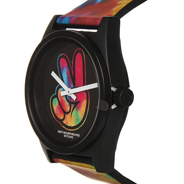 Кварцевые часы Neff Daily Wild Watch Tie Dye