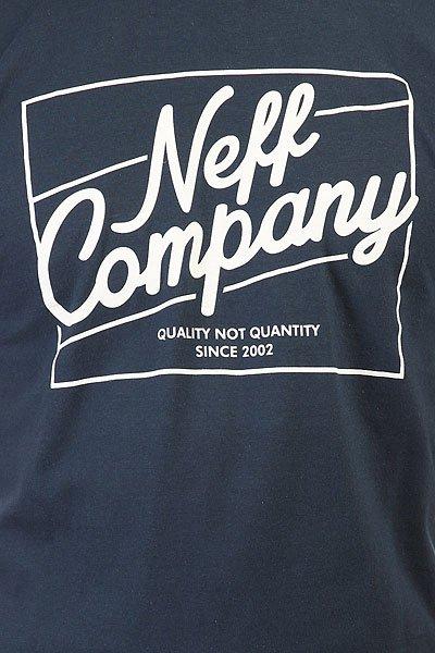 Футболка Neff The Deluxe Tee Navy