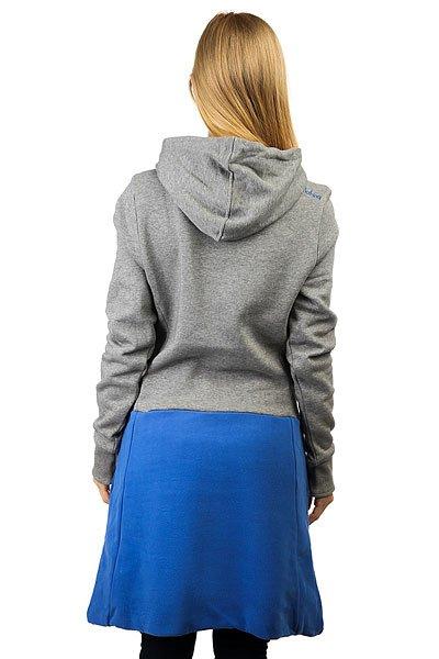 Толстовка классическая женская Picture Organic Sparkling Gray/Blue