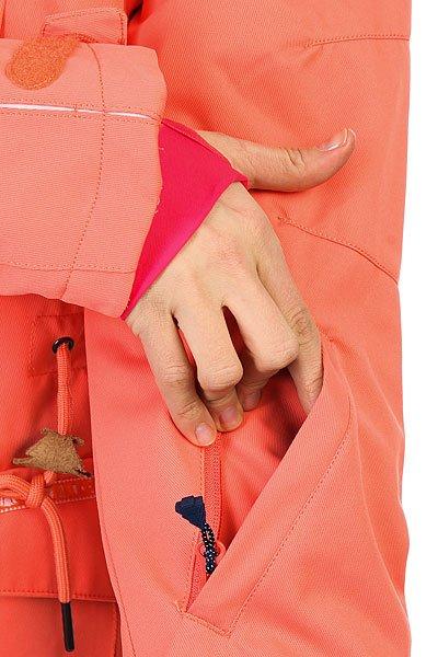 Куртка утепленная женская Picture Organic Apply Corail