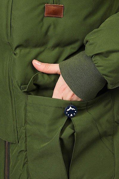 Куртка утепленная женская Picture Organic Ponoka Khaki