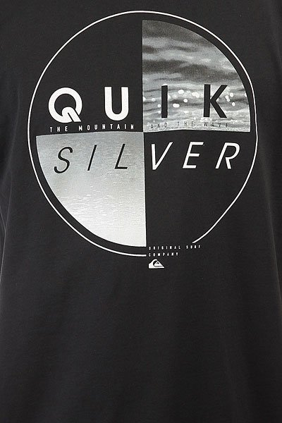 Футболка Quiksilver Blazed Black