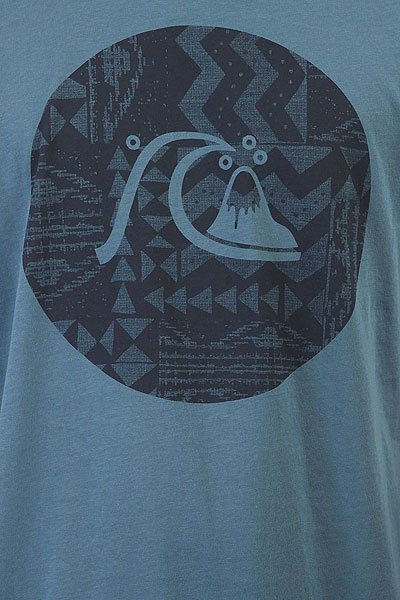 Футболка Quiksilver Circlebubble Indian Teal