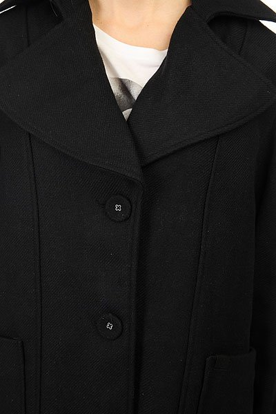 Пальто женское Insight Single Breasted Coat Black