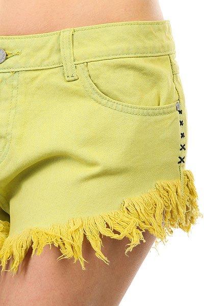Шорты джинсовые женские Insight Dipper Shorts Citrine