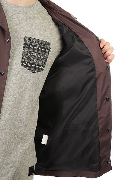 Ветровка Anteater Coachjacket Brown