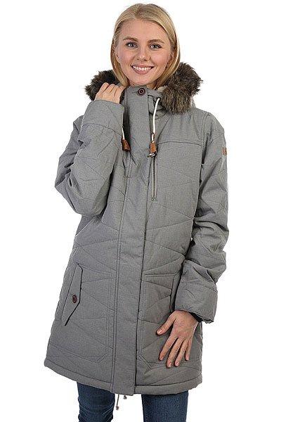 Куртка парка женская Roxy Tara Jk Heritage Heather