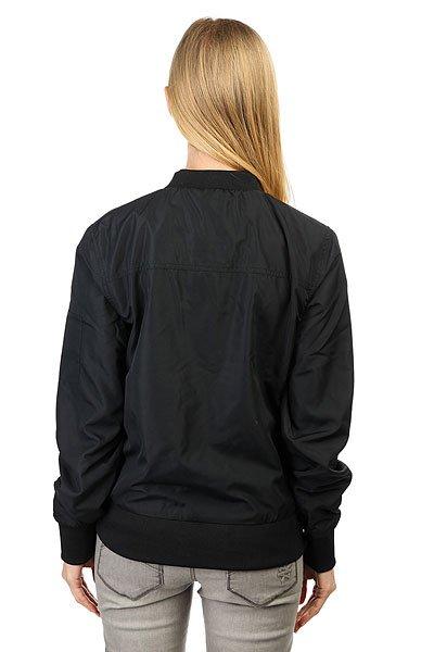 Бомбер женский Colour Wear Lorensberg Black