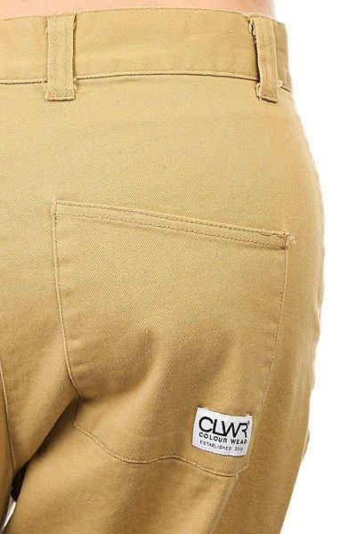 Штаны прямые женские Colour Wear Overlap Pant Camel