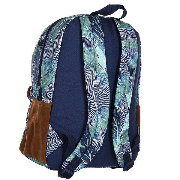 Рюкзак городской женский Roxy Carribean Blue Depths Ready Ma