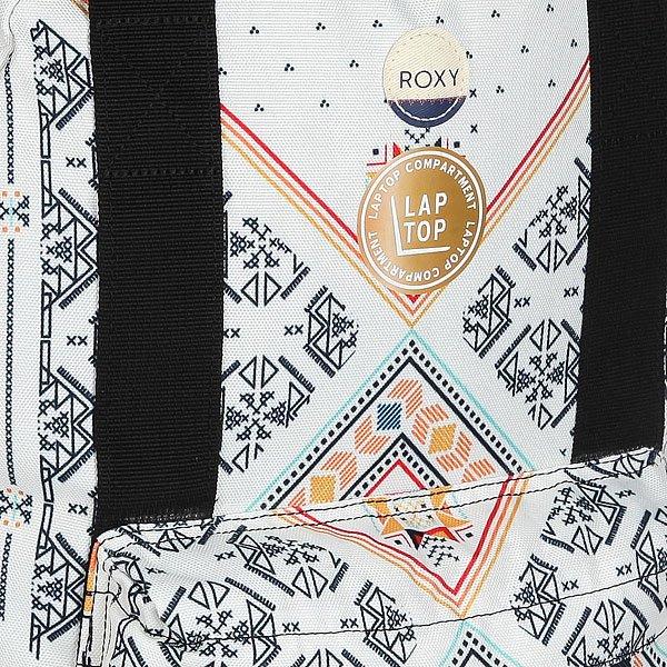 Рюкзак городской женский Roxy By My Side Marshmallow Tex Mex