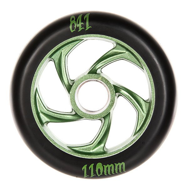Колесо для самоката Ao 841 110mm Forged 5-star Wheel Green