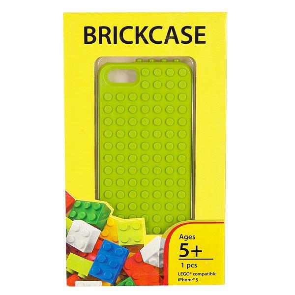 Чехол для iPhone 5 Smallworks Brickphone5 Lime