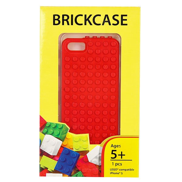 Чехол для iPhone 5 Smallworks BrickPhone5 Red