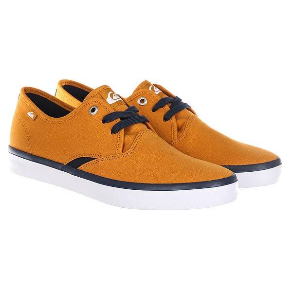 Кеды низкие Quiksilver Shorebreak Orange/White