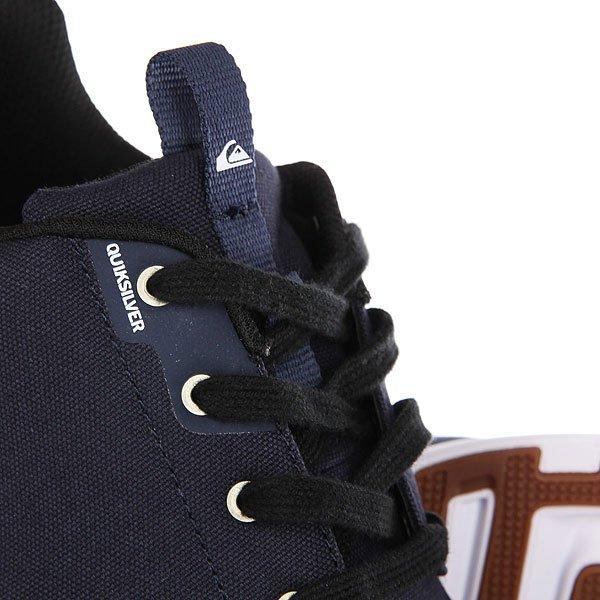 Кроссовки Quiksilver Voyage Textile Blue/Black/White