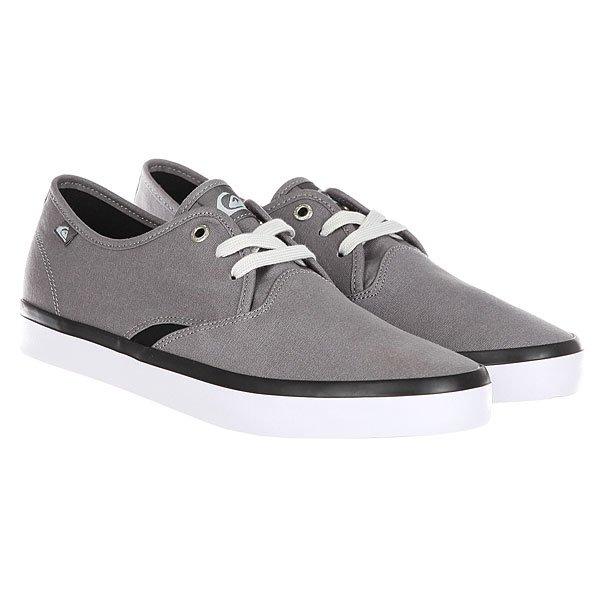 Кеды низкие Quiksilver Shorebreak Grey/Black/White