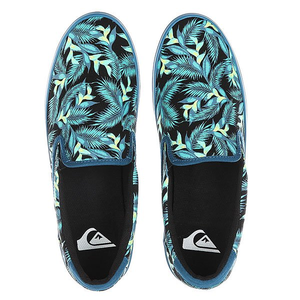 Слипоны Quiksilver Shorebreak Slip Blue/Green/White