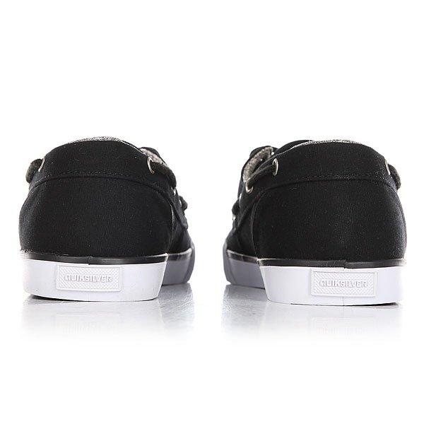Мокасины Quiksilver Spar Black/White