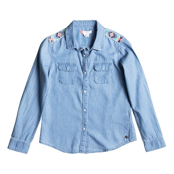Рубашка детская Roxy Waterpriorities Light Blue
